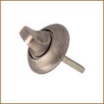 Накладной поворотный фиксатор BK-LOCK-1-2Q бронза